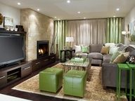 picture of window treatments in a basement