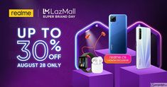 Catch exciting offers at the realme Lazada Super Brand Day then chill the night out with the much-awaited online music fest. Buckle up as realme Philippines brings in loads of exciting offers and surprises on... Netflix Movies To Watch, Music Fest, Ads Creative, Photoshop, Sale Banner, Mobile Legends, Day Up, Trending Videos, August 28