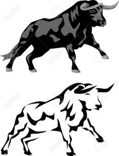 Bildergebnis für blanco y negro toros Art And Illustration, Taurus Bull Tattoos, Dragon Tattoo Designs, Stencil Templates, Animal Design, Animal Paintings, Cool Artwork, Cool Drawings, Animal Photography