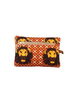 Oba I Makeup Bag #africandesign, #africantextiles, #Evasonaike, #africanprints, #africanfashion, #popularpic, #luxury, #africanbag #picoftheday #picture #look #mytrendesire #cool #africandecor #decorating #design #VintageSafaricollection #OBA