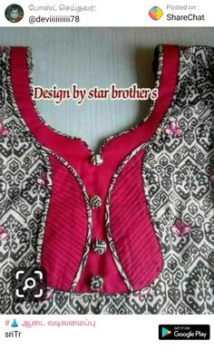 Churidhar Neck Designs, Chudidhar Designs, Salwar Neck Designs, Kurta Neck Design, Saree Blouse Neck Designs, Neck Designs For Suits, Sleeves Designs For Dresses, Neckline Designs, Fancy Blouse Designs