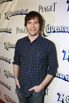 Bill Hader...  Geeky?  Maybe....  Yummy...Most def.
