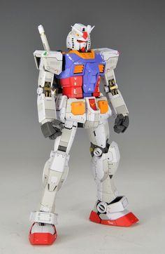 GUNDAM GUY: MG 1/100 RX-78-2 Gundam Ver. 3.0 - Painted Build