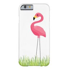 Cuban Pink Flamingo Barely There iPhone 6 Case @zazzle #junkydotcom Aug 7 2016