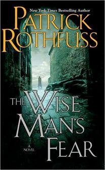 Patrick Rothfuss's 2nd novel about Kvothe is my favorite book ever!  I met him when he signed my first edition copy!