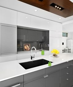 11 amazing high gloss cabinets images black kitchens kitchen rh pinterest com