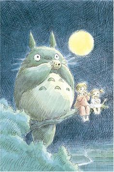 My neighbor Totoro Ocarina 1000pieces Ghibli jigsaw Puzzles 1000-203 from Japan