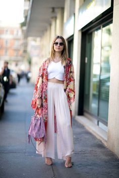 Street Style Fashion Week Milan : les plus beaux looks - Elle