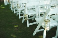 Chair decorations Country Style Wedding, Mountain View, Great Places, My Dream, Amy, Dream Wedding, Backyard, Party Ideas, Wedding Ideas