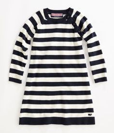 Striped Carousel Sweater Dress from vineyard vines