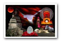 Texas Longhorn Panoramic Stadium and Photo montage prints