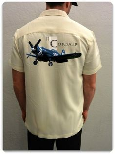 Airplane Shirt Vought F4U Corsair | Spoke N Wheelz