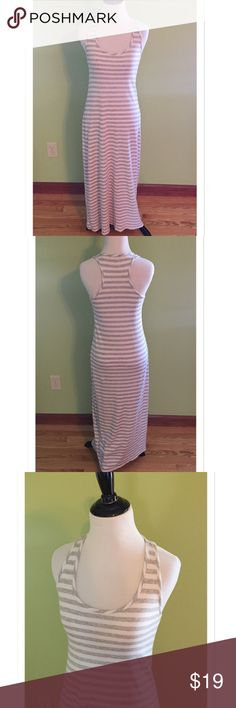 Selling this GAP Striped Racer Back Maxi Dress on Poshmark! My username is: davias_closet. #shopmycloset #poshmark #fashion #shopping #style #forsale #GAP #Dresses & Skirts