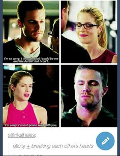 Arrow, Felicity and Oliver #3.1 #3.2 #Olicity - Could they just stop it?!?