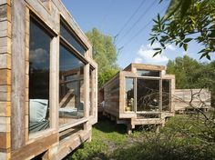 """""""Waiting for the River"""" by Observatorium  via #http://www.socialdesignmagazine.com #wood #architecture"""