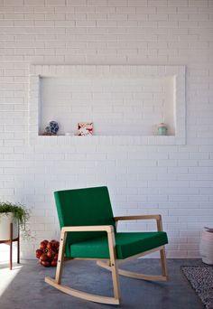 Neon details in the home of textile designer and illustrator Alyson Fox - Jelanie blog 5