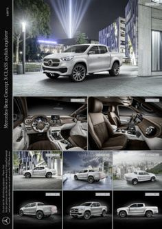 Mercedes-Benz Concept X-CLASS stylish explorer #Mercedes #メルセデス