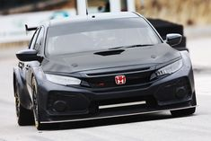 The current road-going Honda Civic Type R looks like teenage anger bottled up into a car body, leaving people split on how they feel about . Honda Civic Type R, Honda Civic Coupe, Honda Civic Hatchback, Honda S2000, Honda Typ R, Honda Cars, Honda Accord Sport, Acura Tsx, Sport Cars
