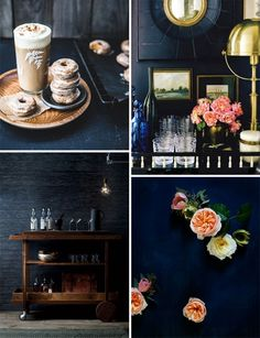 Styling with Dark Blue