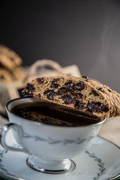 Whole Wheat Chocolate Chip Biscotti