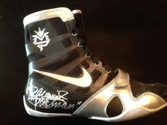 Manny Pacquiao Signed Nike Boxing Shoes