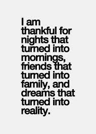*Thankful*
