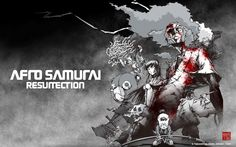 From Takashi Okazaki's manga to Gonzo's animated series, Afro Samurai is finally getting the green light for a live action flick. Afro Samurai, Original Wallpaper, Cartoon Wallpaper, Samurai Wallpaper, Gil Scott Heron, Ghost In The Shell, Live Action, Wallpaper Backgrounds, 1080p Wallpaper