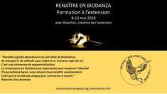 Renaître en Biodanza avec Silvia Eick