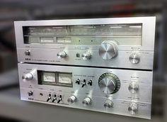 HiFi Collector: Integrated Amplifier and Tuner - Akai and Audio Music, Hifi Audio, Yamaha Audio, Speaker Amplifier, Speakers, Radios, Retro, Audio Design, Tape Recorder