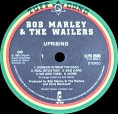 1980 - ILPS 9596 - Uprising - NCB - Tuff Gong Records