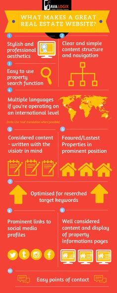 What makes a real estate website great? Follow these 10 tips and you will be off to a great start.