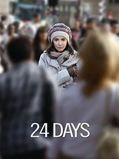 24 Days / 24 Jours (2014) ... After Shabbat dinner with his mother & sister, 23yr old Ilan Halimi (Syrus Shahidi) receives a phone call. The following day the family is sent a message demanding a ransom. Ilan's parents Ruth & Didier contact the police. The police failing to recognize the antisemitism behind the attack treat Ilan's case as a normal kidnapping. The next 24 days the family receives over 700 threatening calls. Tensions rise as days go by without his return. (31-Oct-2016)