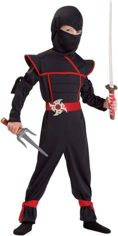 Toddler Boys Stealth Ninja Costume - Party City
