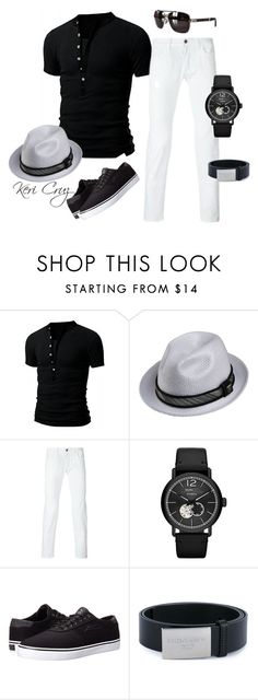 Men's Summer Fashion by keri-cruz on Polyvore featuring Lakai, Stacy Adams, Dolce&Gabbana, Marc by Marc Jacobs, Montblanc, men's fashion and menswear
