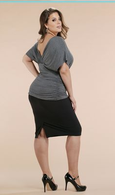 Ashley Graham. gorgeous!... Love the top.... see more from Torrid at:  HotWomensClothes....