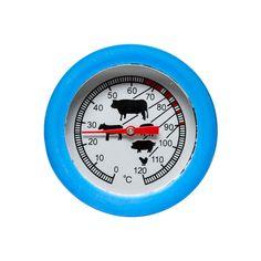 Termometr do pieczenia BBQ, turkusowy