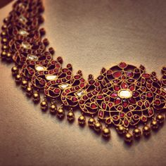 Pure gold and precious Ruby set in traditional India signature style will be available in Sakhi soon  BG-14-523 Exclusive preview @ Sakhi Jayanagar  https://www.facebook.com/events/1434785360115604/