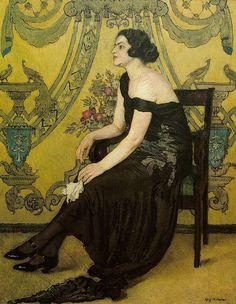 "Józef Mehoffer ""Róża Saaronu"" 1923   Flickr - Photo Sharing!"