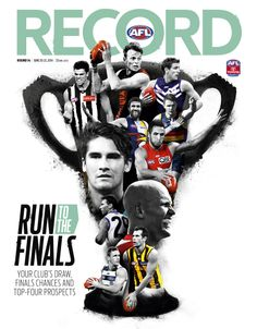 AFL Record Round 14 National Cover