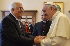 Abu Mazen incontra il Papa