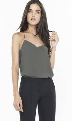 I want the color pictured. I'd like this in AVIATOR size MEDIUM.  Barcelona Cami from EXPRESS