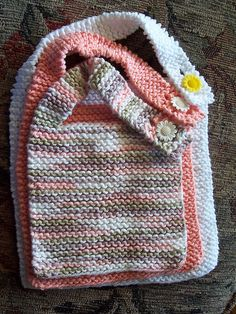 Ravelry: Simple Baby Bib pattern by Colleen Kadleck