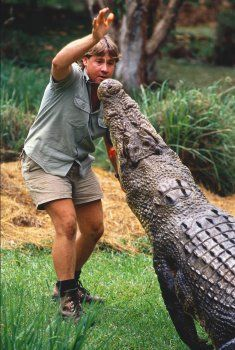 We loved Steve Irwin, the Crocodile Hunter, and his enthusiasm for his reptilian friends.