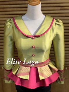Best Blouse Designs, Sari Blouse Designs, Kurta Designs, Myanmar Dress Design, Stylish Blouse Design, Latest African Fashion Dresses, African Attire, Clothes For Women, Ankara Blouse