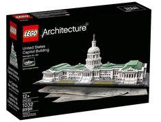 LEGO Architecture United States Capitol Building Kit (1032 Piece) Set 21030