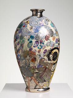 Grayson Perry | The Modern Condition, 2009 Glazed ceramic, 57 x 30 cm 22 1/2 x 11 3/4 in