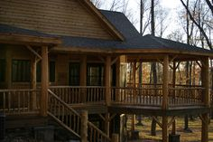 The perfect deck for leaf peeping! #fall