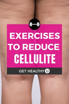 7 Best Exercises to Reduce Cellulite – Get Healthy U You don't have to be overweight or a certain age to get cellulite; in fact of women have it. Toning Workouts, Fun Workouts, Fitness Exercises, Workout Tips, Workout Routines, Workout Plans, Do Exercise, Excercise, Lose Back Fat