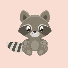 placing the raccoon on the background