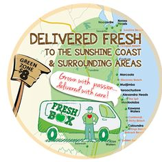 Our dear friends at FRESH BOX are trailing deliveries to the Wide Bay Area! Share with your friends and family in these areas: Tin Can Bay, Maryborough, Harvey Bay, Cooloola and Gympie.  So grateful for Georgie and Ben working so hard to supply us with fresh, organic and local produce! The tastiest fruit and veg on the Sunshine Coast!  http://www.freshbox.com.au/